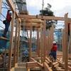 鉾田市新築工事 建て方スタート