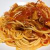 【食事】 鶏肉を燻製にしてトマトパスタ