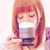 あやみ旬果 がコーヒーで一息つく…