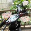 【バイク】アドレスV125S 冬用装備を使用してみた感想 シートヒーター グリップヒーター