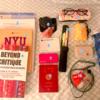 またたび、ニューヨークの大学院生活でのバッグ中身(2018年)
