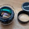 ミノルタのオールドレンズ〈MINOLTA MC ROKKOR-PG 58mm F1.2〉を入手。レストアから試写までをご紹介。