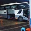 ヤンゴンからバガンに向けて深夜バス乗車。意外と快適なバスでした。【2016年7月ミャンマー旅行記11】