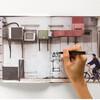 グラフィティーアーティストを気取れるノートブック:アートと文房具