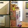 賃貸DIYで靴箱の壁と扉をレンガ柄に!簡単に剥がせるリメイクシートを使ってみた結果!