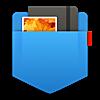メニューバーをスクロールしてメモやファイルを管理できる Unclutter