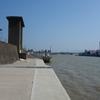 旧江戸川当代島水門~慈悲地蔵尊~船圦緑道  浦安市当代島の旧跡歩き