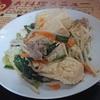 栄町「カフェとも」で豆腐チャンプルー