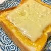 セブンおやつアレンジ⑶安納芋チーズトースト