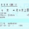 環状線を一周する連絡乗車券