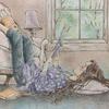 「エポルの森の少女」線画のない部分はどう塗る?模様を描くの難しい