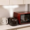 炊飯器はどこに置く?蒸気対策や家電収納は必要?1年間使ってみた結果と、検討した内容をまとめました。