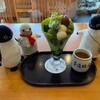 京都名物、都路里の抹茶パフェ!人気店に突撃取材だ(初夏の京都旅行その1)(452)