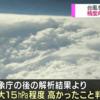台風の目に入って直接観測をした結果、気象庁の解析と比べて中心気圧に最大で15ヘクトパスカル程度の差があったことが判明!直接観測で得られたデータを加えると予測精度が向上!!