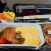 機内食を振り返る(08/2016, British Airwaysエコノミー)