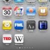 iPod に入れたアプリ