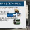 2019年11月12日(火)川田重信氏 マネックスオンラインセミナー出演
