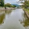 鳥取城 水堀跡(鳥取県鳥取)