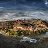 スペインの古都トレドの夕焼けが美しい|今日の写真