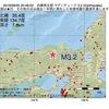 2016年09月25日 20時48分 兵庫県北部でM3.2の地震