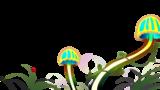 きのことテントウムシ/Mushroom and ladybug
