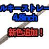 【DSTYLE】軽くロッドをシェイクスルだけで青木大介プロが望むアクションを再現できるストレートワーム「トルキーストレート4.8インチ」に新色追加!