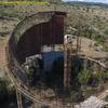 本日の廃墟/Sleeping Giant: Abandoned USSR radio telescope from a bird's-eye view