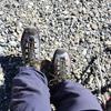 奥穂高岳でドランゴ タワー GTXの試しばきをする