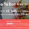 GOTO EAT&「大阪府 少人数飲食利用店応援キャンペーン」でお得に予約しました!!