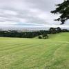 気仙沼でゴルフ(9月7日にお知らせしたパークゴルフ場が眼下に望めるかな)