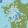 午前9時16分頃に熊本県熊本地方で地震が起きた。
