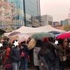 雨で分かったソウルの空気の汚さ
