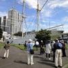 東京海洋大学のマリンサイエンスミュージアムと鯨ギャラリー、雲鷹丸見学