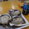 今夏最後の岩牡蠣