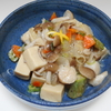 高たんぱくでヘルシーな高野豆腐の野菜炒め