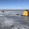 初めての氷上チカ12/26in風蓮湖#1