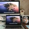 【Mac】ターゲットディスプレイモードでiMacをMacBookの外部ディスプレイにする