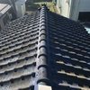 見附市南本町 車庫の屋根 瓦から板金へ