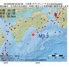 2016年05月09日 03時20分 土佐湾でM3.3の地震