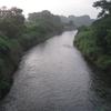十二天橋より田川下流を望む