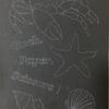 貝殻を描きたかったので