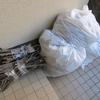 庭のゴミ捨てと大学芋の日