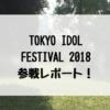 「TIF2018」会場レポート・感想!