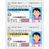 車の免許証の写真は、いつもなぜか3割増しに写るよ。