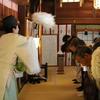 昭和祭と境内奉仕作業が行われました