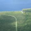 チゲビーチへの道