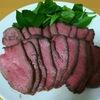 【ホットクック調理】簡単!美味しい!おもてなしにも!ローストビーフレシピ