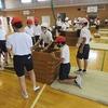 6年生:体育 跳び箱