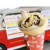 栃木県大田原市の企業様イベントに可愛い移動販売車でクレープをプレゼント♡ヒーローズ(Crêpe&Café Crane Expressさん)登場♪