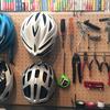 【自転車部屋の有孔ボード(パンチングボード)を有効活用してみました】自転車部屋大改造計画~DIYで秘密基地を作ろう~